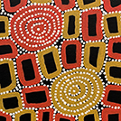 Tingari - Men's Creation Dreaming - © Walala Tjapaltjarri