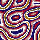 Desert Fringe-Rush Seed Dreaming - © Valerie Morris Napurrurla