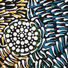 Native Seed Dreaming - © Glenys Brown Napanangka