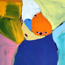 Budgerigar Dreaming - © Karen Barnes Napaljarri