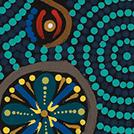 Desert Fringe-rush Seed Dreaming - © Anne Grace Kitson Nungarrayi