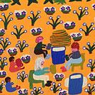 Artists' Bush Trip - © Margaret Boko Nampitjinpa